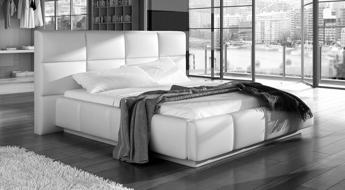 Doppelbett Francesco mit LED