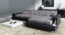 Sofa Leder/Stoff Imola III