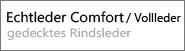 Echtleder Comfort - Vollleder +150 Euro