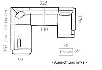 Bayern Ledercouch I Xxl Wohnlandschaft Mit Led Von Bullhoff By