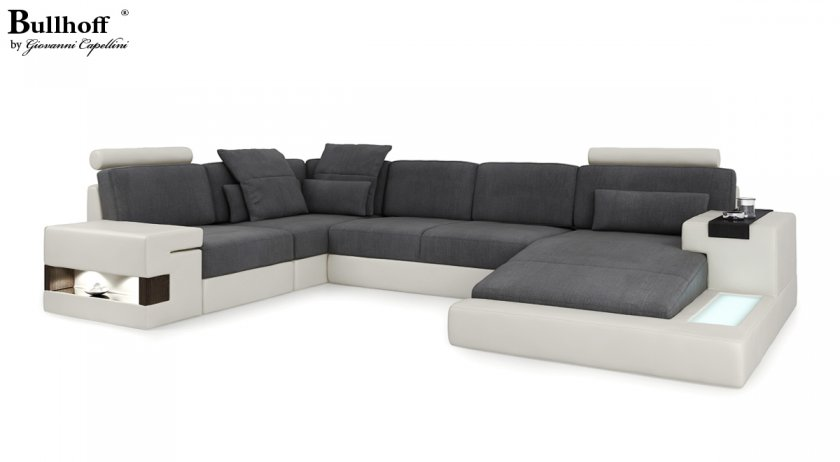 sofas couches i leder stoff modernes design. Black Bedroom Furniture Sets. Home Design Ideas