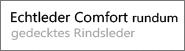 Echtleder Comfort rundum