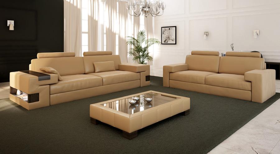 Luxus 3-Sitzer Ledercouch Hamburg
