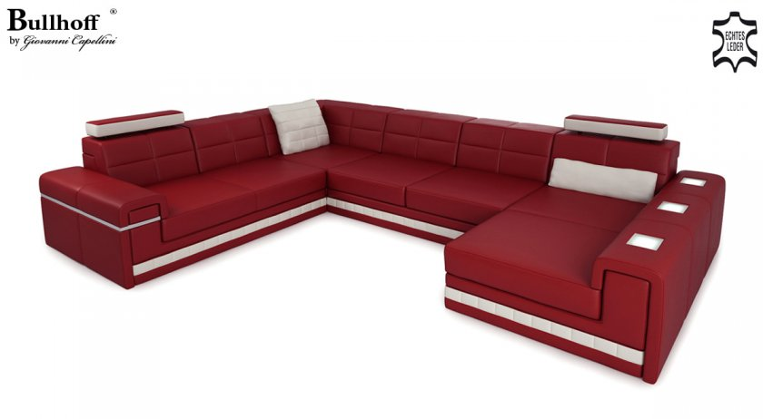 Sofas couches i ledersofas und stoff couches unikate for Wohnlandschaft imola