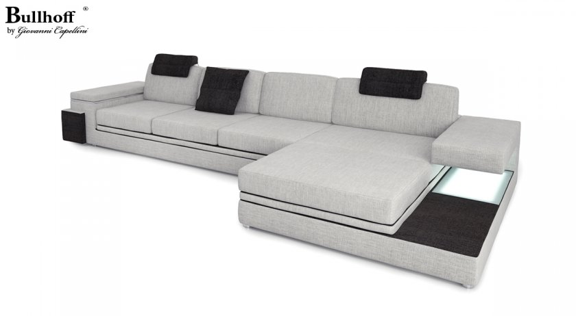 stoffsofas in l form unikate mit hohem design faktor. Black Bedroom Furniture Sets. Home Design Ideas