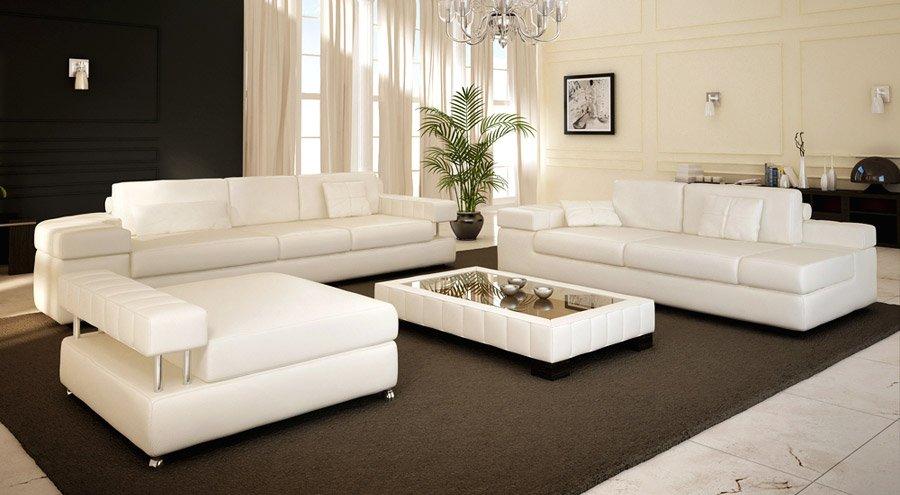 München Leder Sofa Couchgarnitur Von Bullhoff By Giovanni