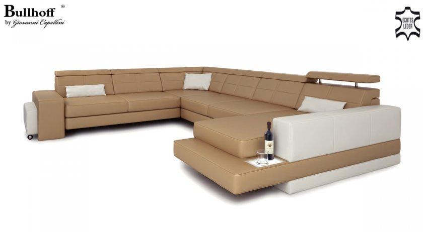 sofa in u form leder sofa kolonialstil landhausstil. Black Bedroom Furniture Sets. Home Design Ideas