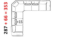 Stuttgart-Erweiterung-Sofa