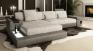 Sofa Leder/Stoff Latium III