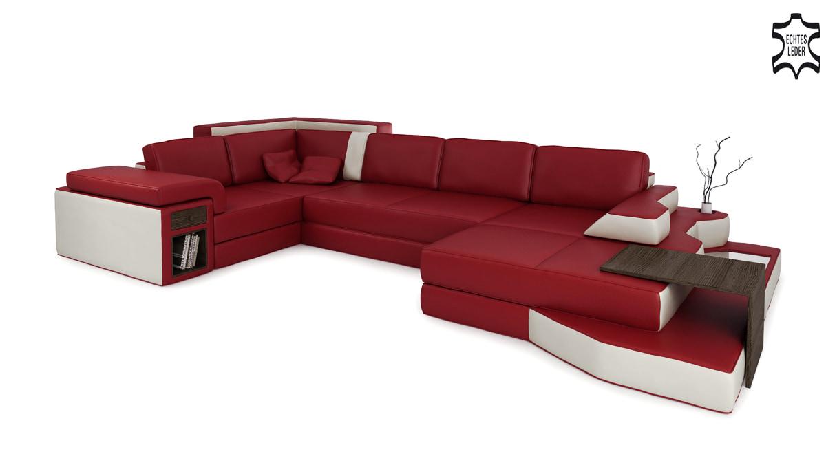 Leder Designsofa Schweiz