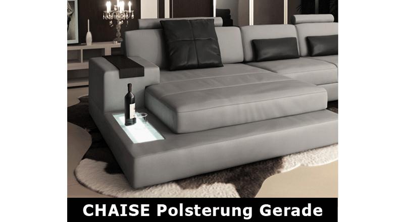 ! ANGEBOT ! Sofa Leder/Stoff Hamburg